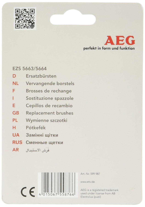 AEG EZB 5663/5664 - Cabezal de repuesto (4 unidades): Amazon.es: Salud y cuidado personal