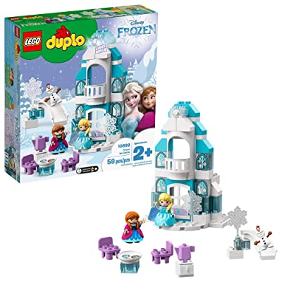 LEGO DUPLO Disney Frozen Ice Castle 10899 Building Blocks (59 Pieces): Toys & Games
