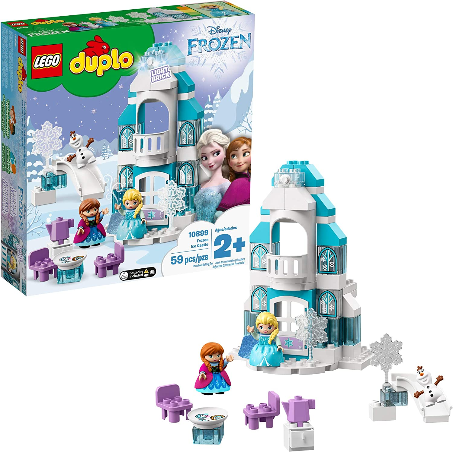 Lego Duplo Disney Frozen Ice Castle 10899 Building Blocks 59 Pieces Toys Games