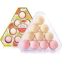 10-Pack ArioseMonde Lemon & Grapefruit Bath Bombs Gift Set