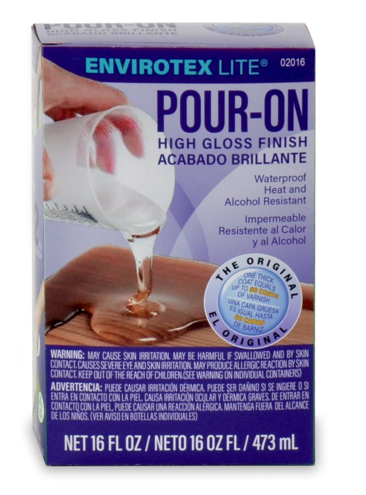 Environmental Technology 16-Ounce Kit Lite Pour-On, High Gloss Finish (2016) by ENVIRONMENTAL (Image #1)
