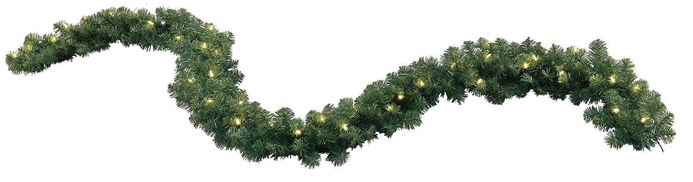 LED Stella ghirlandaNebraska, accese 270 cm, 40 LED bianco caldo all'aperto, cartone trasformatore a quattro colori 612-22 Best Season