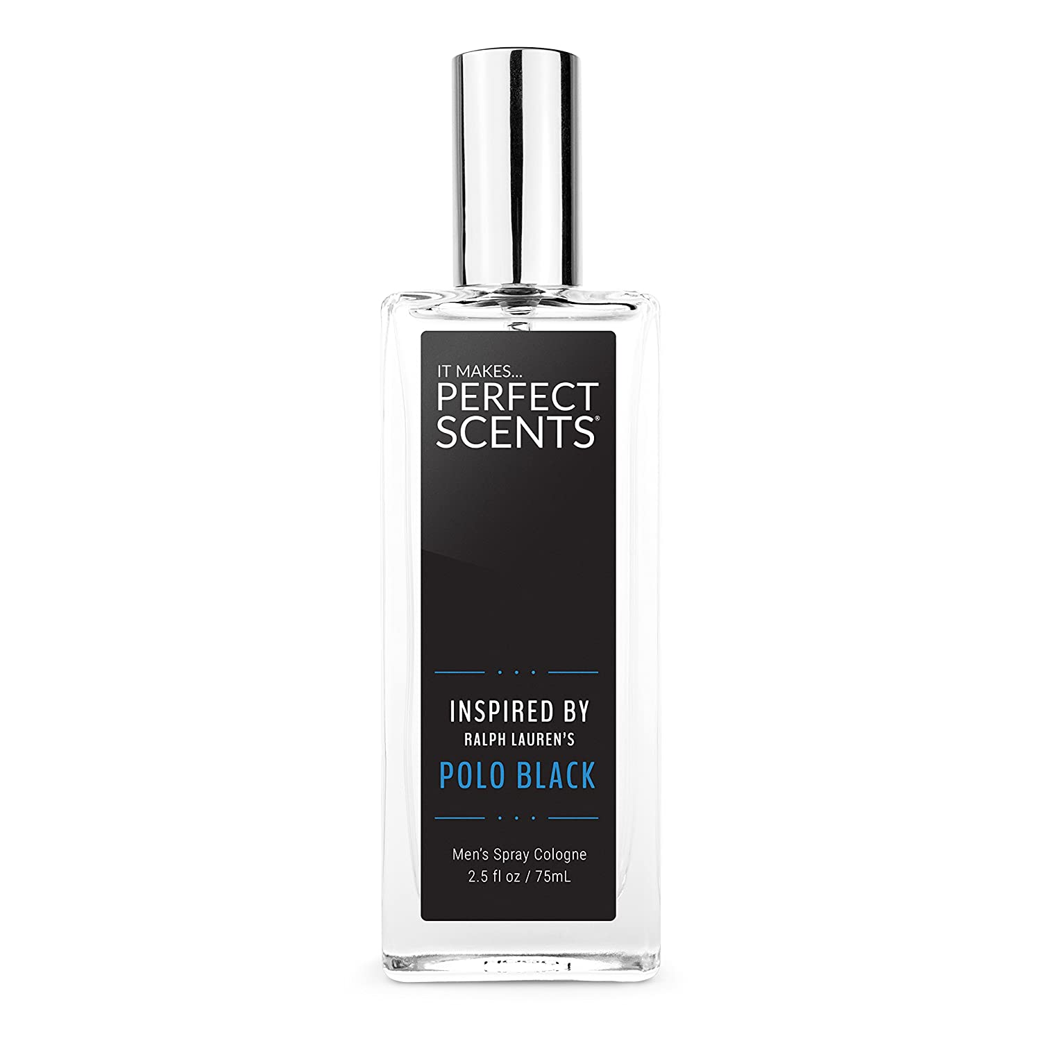 Perfect Scents Impression of Polo Black Cologne, 2.5 Fluid Ounce ...