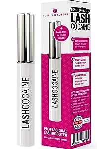 LASHCOCAINE   PROFESSIONAL eyelash GROWTH serum   MADE in GERMANY   Svenja Walberg   NEW 2021 Lash ruler for visible results included   Lash BOOSTER   Lash ENHANCING Serum