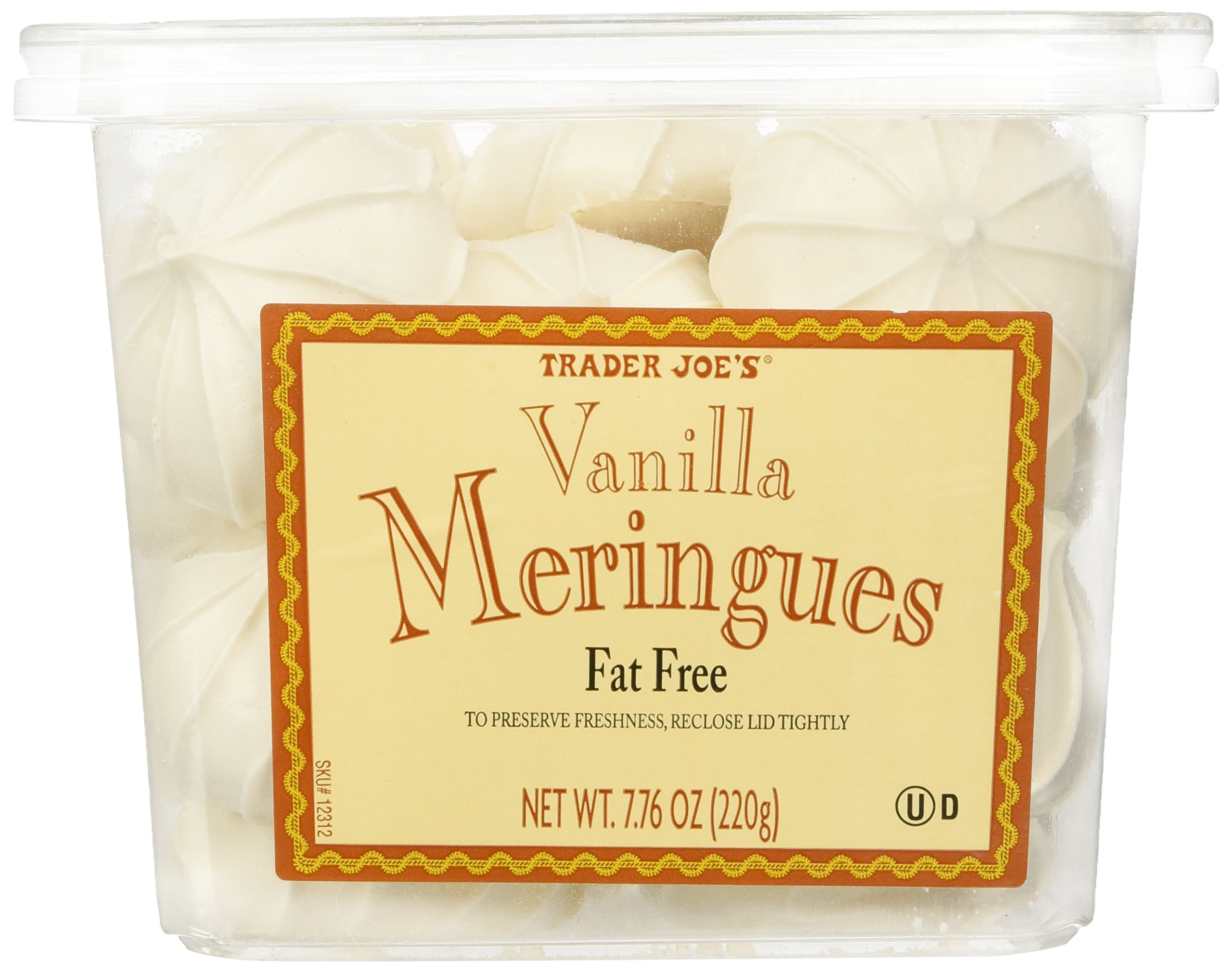 Trader Joe's Vanilla Meringues Cookies