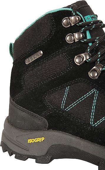 Chaussures durables Marche Mountain Warehouse Bottines imperm/éables Astronomy Femmes Voyages Bottes de randonn/ée rev/êtement en Daim et Textile Respirantes