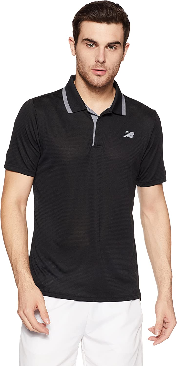 New Balance Hombres Rally Classic Polo M: Amazon.es: Deportes y ...