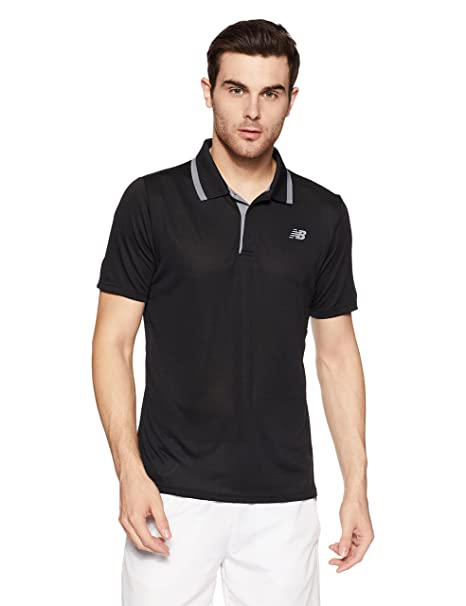 New Balance Hombres Rally Classic Polo S: Amazon.es: Deportes y ...