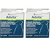 VetOne Advita Probiotic Nutritional Supplement for Dogs 2pack - 60ct