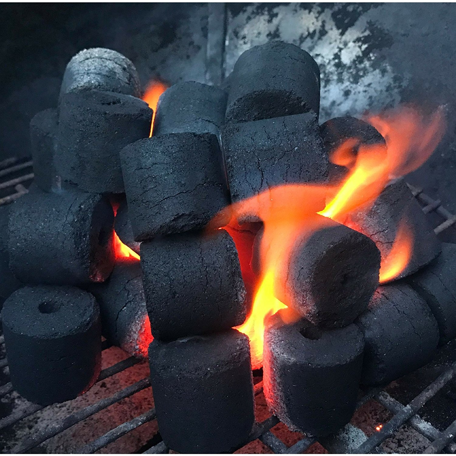 COCO-BBQ Eco-Friendly Barbecue (SET OF 6) Charcoal Made from Coconut Shells for Low and Slow Grilling by COCO-BBQ (Image #4)