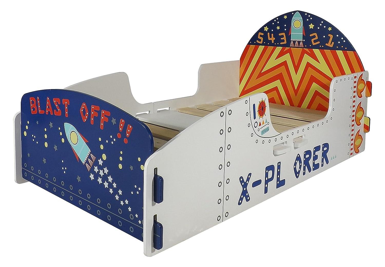 Kidsaw Explorer Junior Letto, Legno, Bianco, 150 x 80 x 59 cm 150x 80x 59cm Kidsaw Ltd EXJB