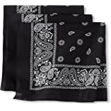 Levi's Men's 100% Cotton Multi-Purpose Bandana Gift Sets