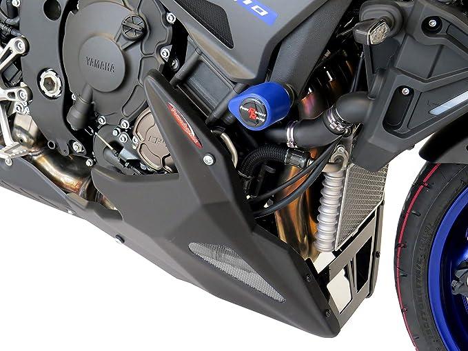 XSR700 16-19 YAMAHA MT-07 14-19 TRACER 700 16-19 Matt Black-Blue Mesh Belly Pan