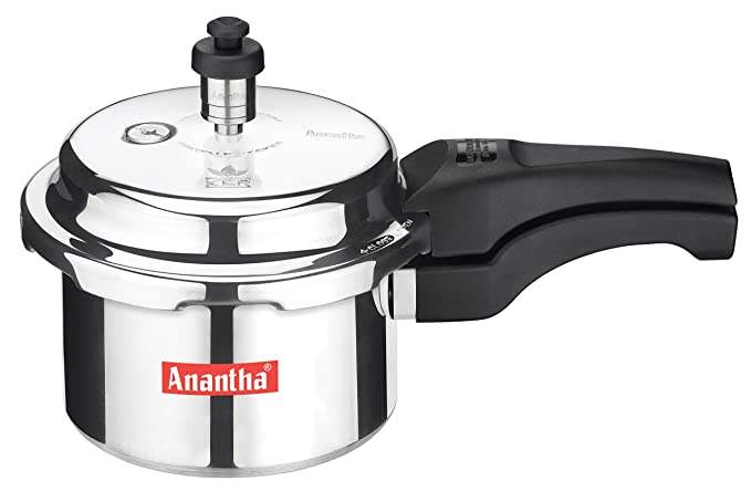 Anantha Perfect Aluminium Pressure Cooker,1.5 liters