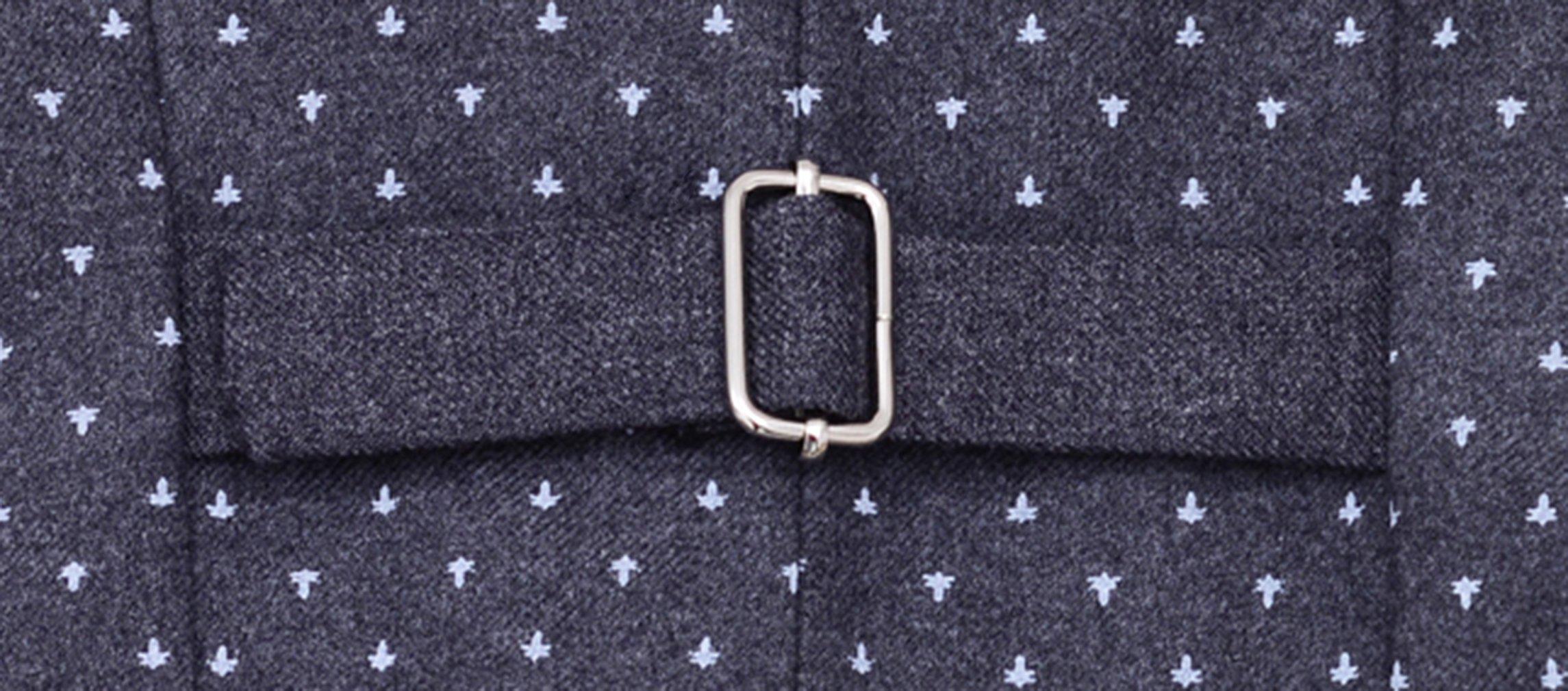 La Vogue Boys Formal 5 Piece Dress Suit Jacket Vest Shirt Pant and Bow S7 by La Vogue (Image #8)