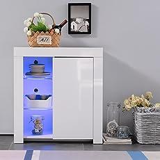 Mecor Sideboard Kitchen Buffet Storage White