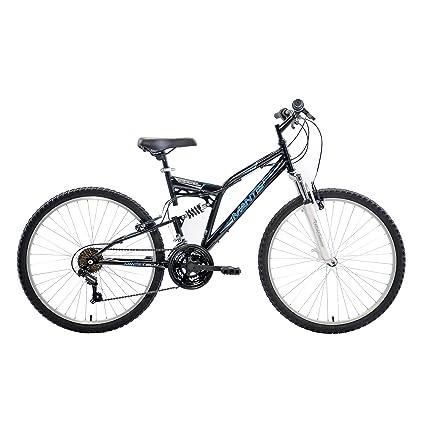 Amazon.com : Mantis Ghost Full Suspension Mountain Bike, 26 inch ...