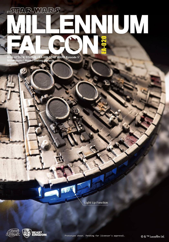 Beast Kingdom Egg Attack Floating Star Wars Millennium Falcon EA-020 Action Figure