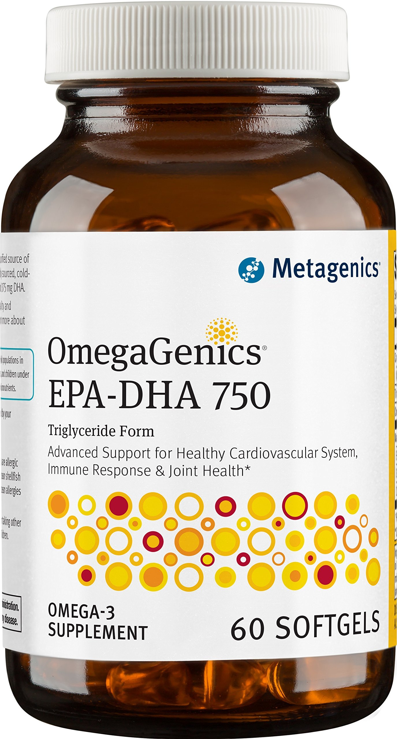 Metagenics OmegaGenics EPA-DHA 750, 60 Count