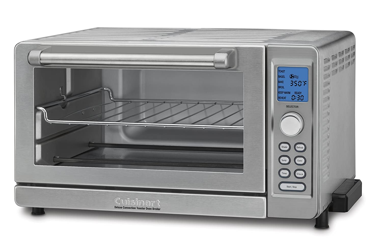 Amazon.com: Cuisinart TOB-135 Deluxe Convection Toaster Oven ...