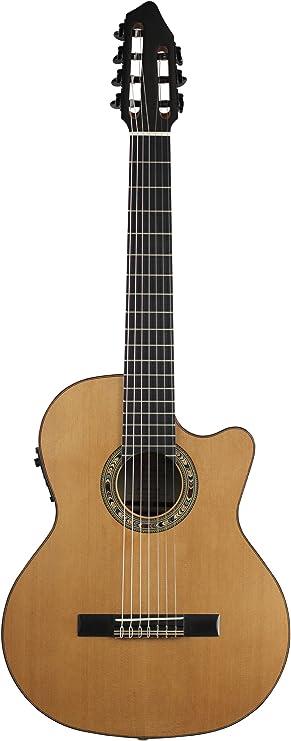 Kremona Fiesta CW-7 Cutaway/Guitarra eléctrica clásica rusa de 7 ...