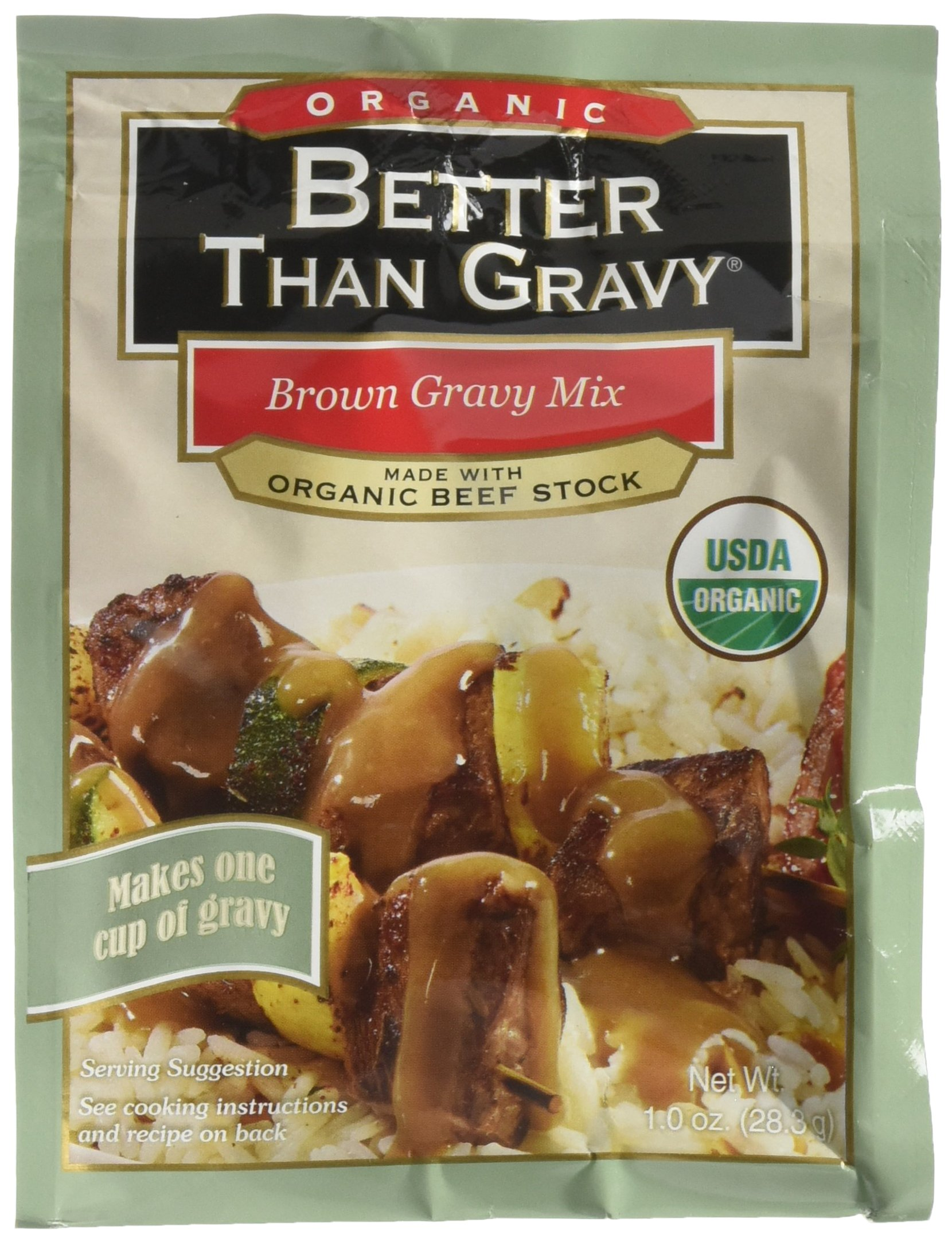 Better Than Bouillon B62093 Better Than Gravy Organic Beef Gravy Mix -12x1oz
