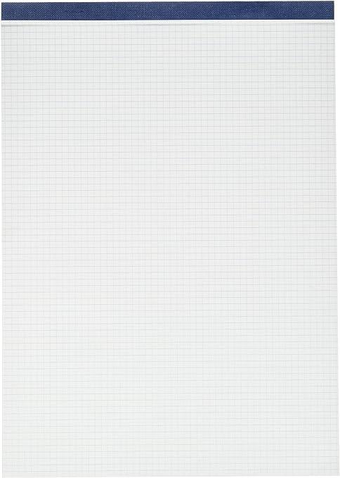 Unipapel 76784 - Block de notas perforado, 80 hojas cuadriculadas, A4, 1 unidad: Amazon.es: Oficina y papelería