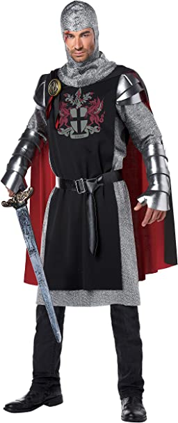 Disfraz de caballero medieval para hombre: Amazon.es: Juguetes y ...