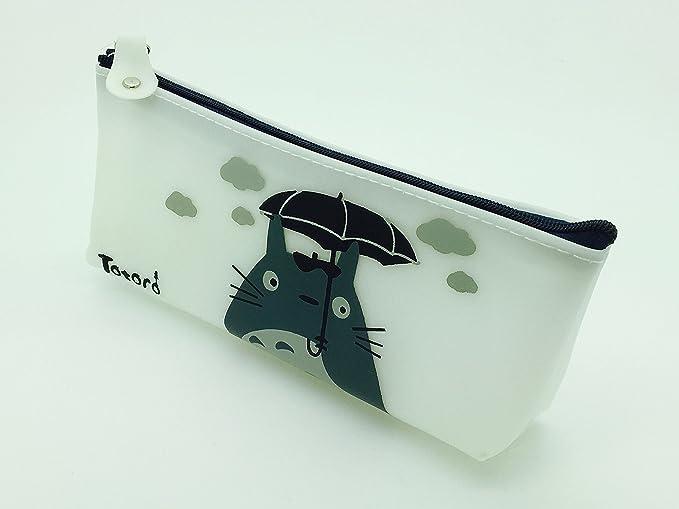 PartyErasers Cute Totoro silicona pluma estuche/bolsa – Paraguas: Amazon.es: Oficina y papelería