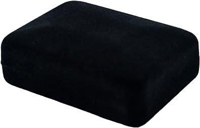 Caja de terciopelo negro - Joyería collar pendientes - Embalaje ...