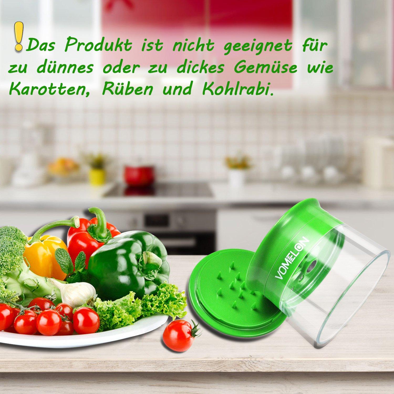 Spiralschneider, 3-Klingen Gemüseschneider Für Karotte, Gurke, Kartoffel, Kürbis, Zucchini