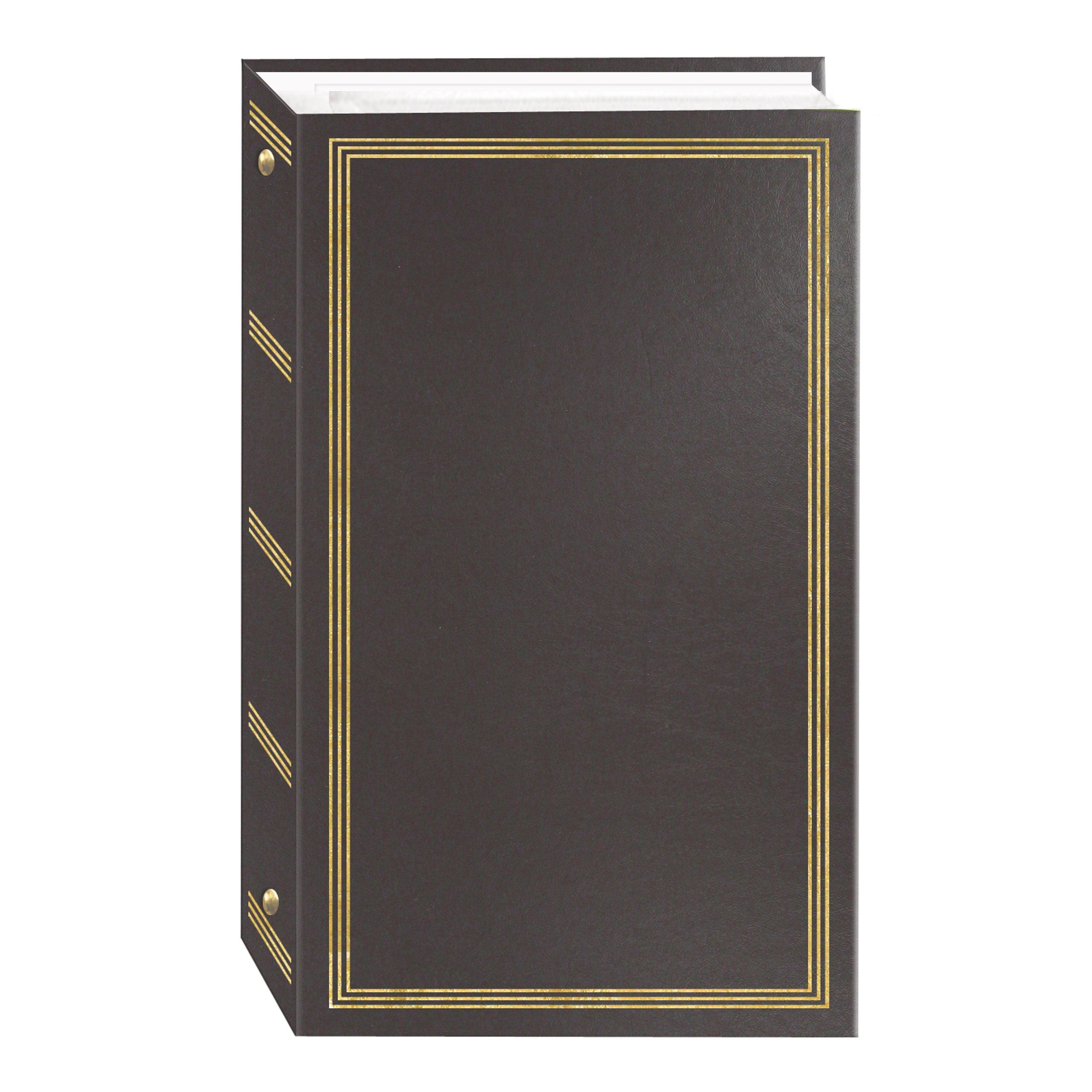 3-Ring Photo Album 300 Pockets Hold 4x6 Photos, Gray by Pioneer Photo Albums