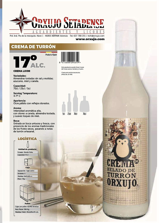 Licor Crema de Turrón: Amazon.es: Alimentación y bebidas