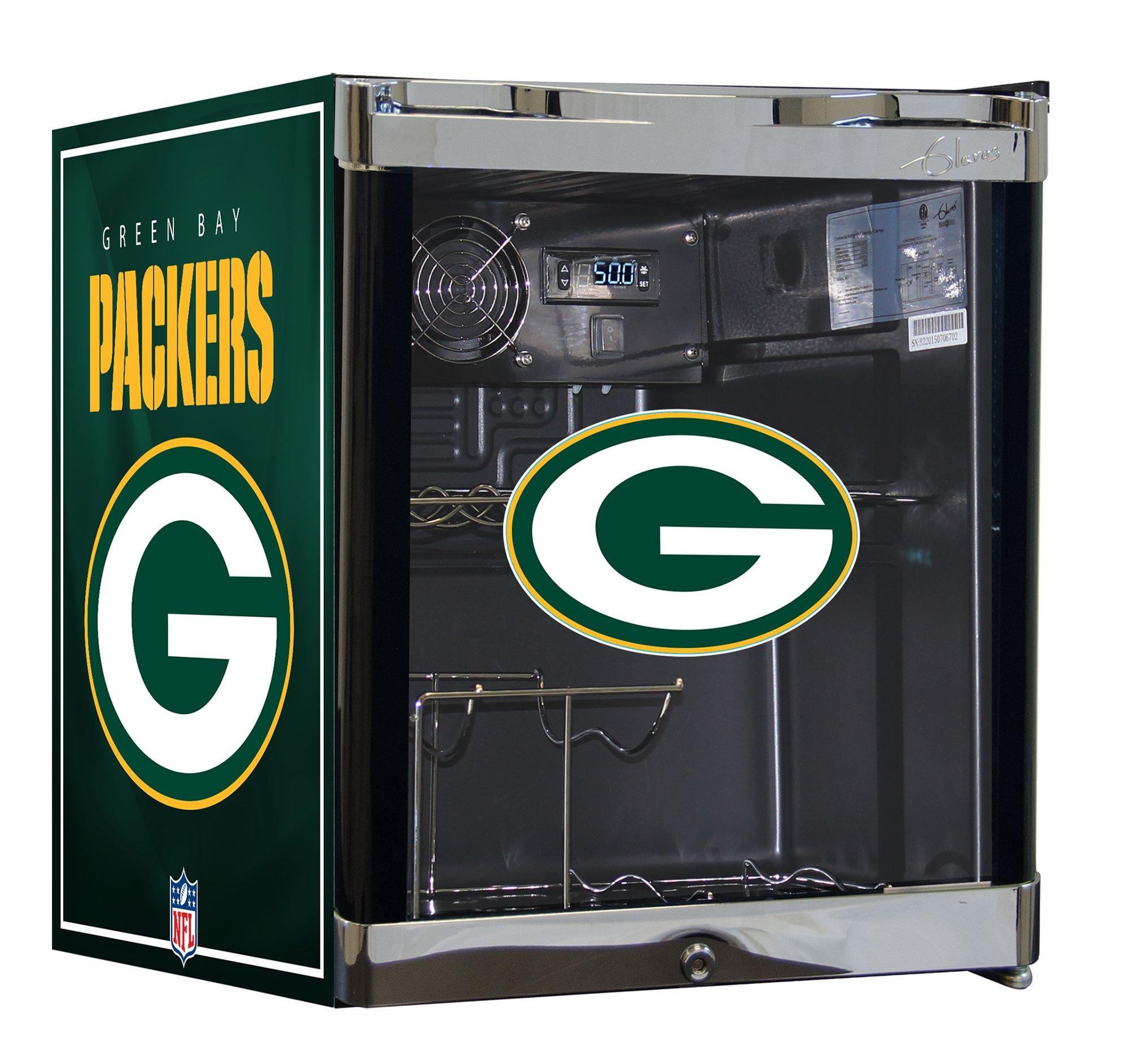 NFL Wine Cooler & Beverage Center Combo- Green Bay Packers