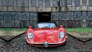 Lilarama USA 1968-Alfa-Romeo-Tipo-33-Stradale-V4- - Super Car Classic Car - Giant Poster Print - Cool Wall Decor Art Print Poster