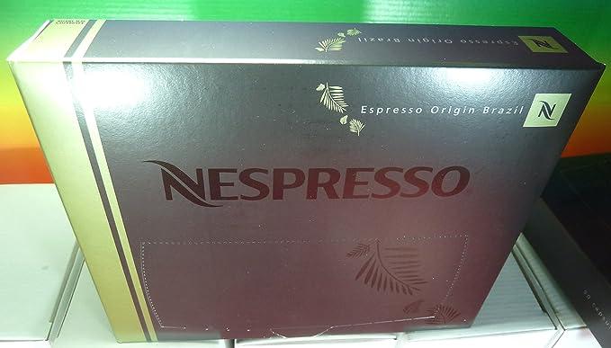 Nespresso - Espresso origin brazil pro coffee 50 capsules,new. for gemini, zenius