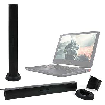DURAGADGET Altavoz Soundbar para Portátil Acer Aspire E5-523G-958X, Acer Aspire ES1-533-C3PZ / Primux Ioxbook Tour 1101, Primux Ioxbook Tour 1102F: ...