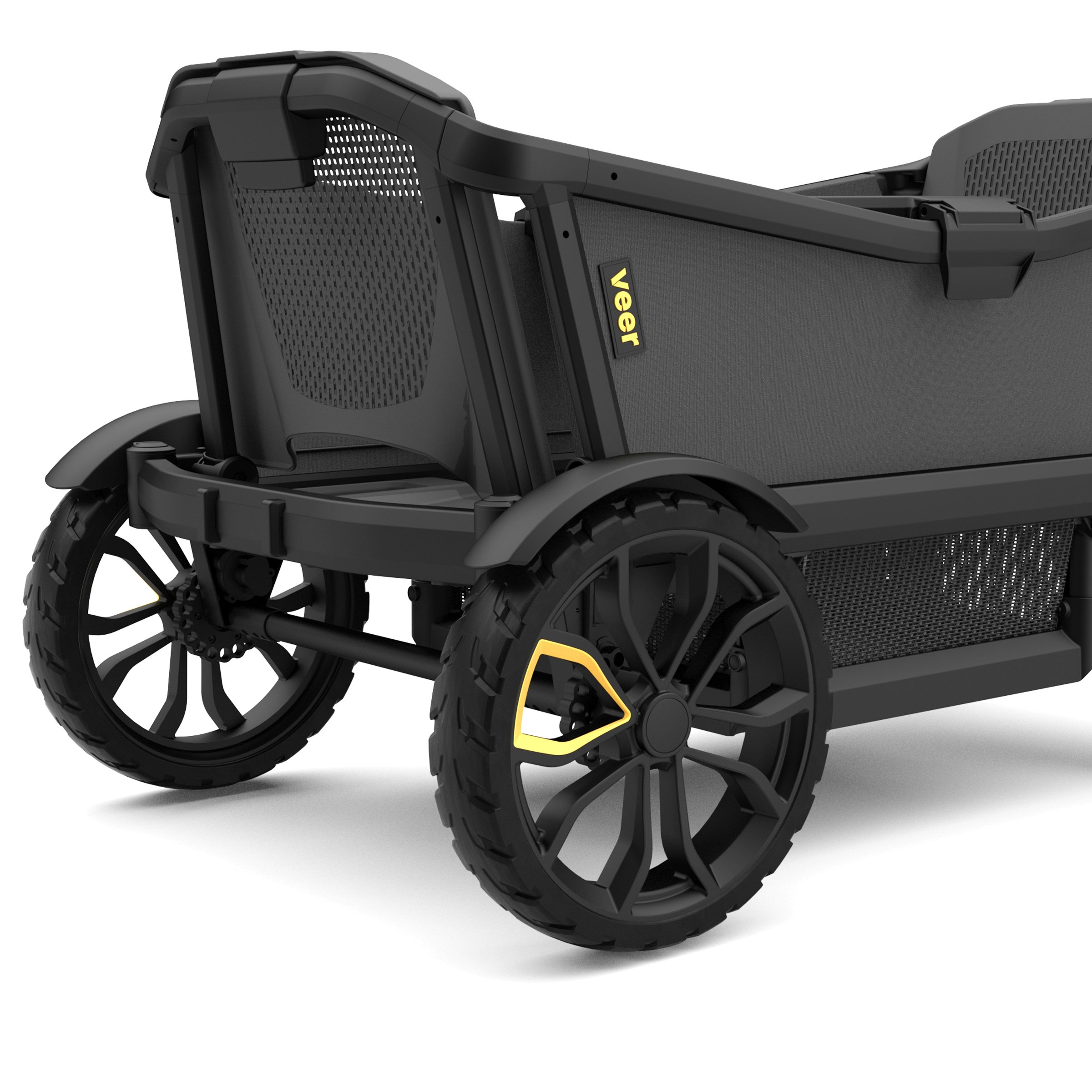Veer Cruiser with Retractable Canopy | Next Generation Premium Stroller Wagon Hybrid by Veer (Image #3)