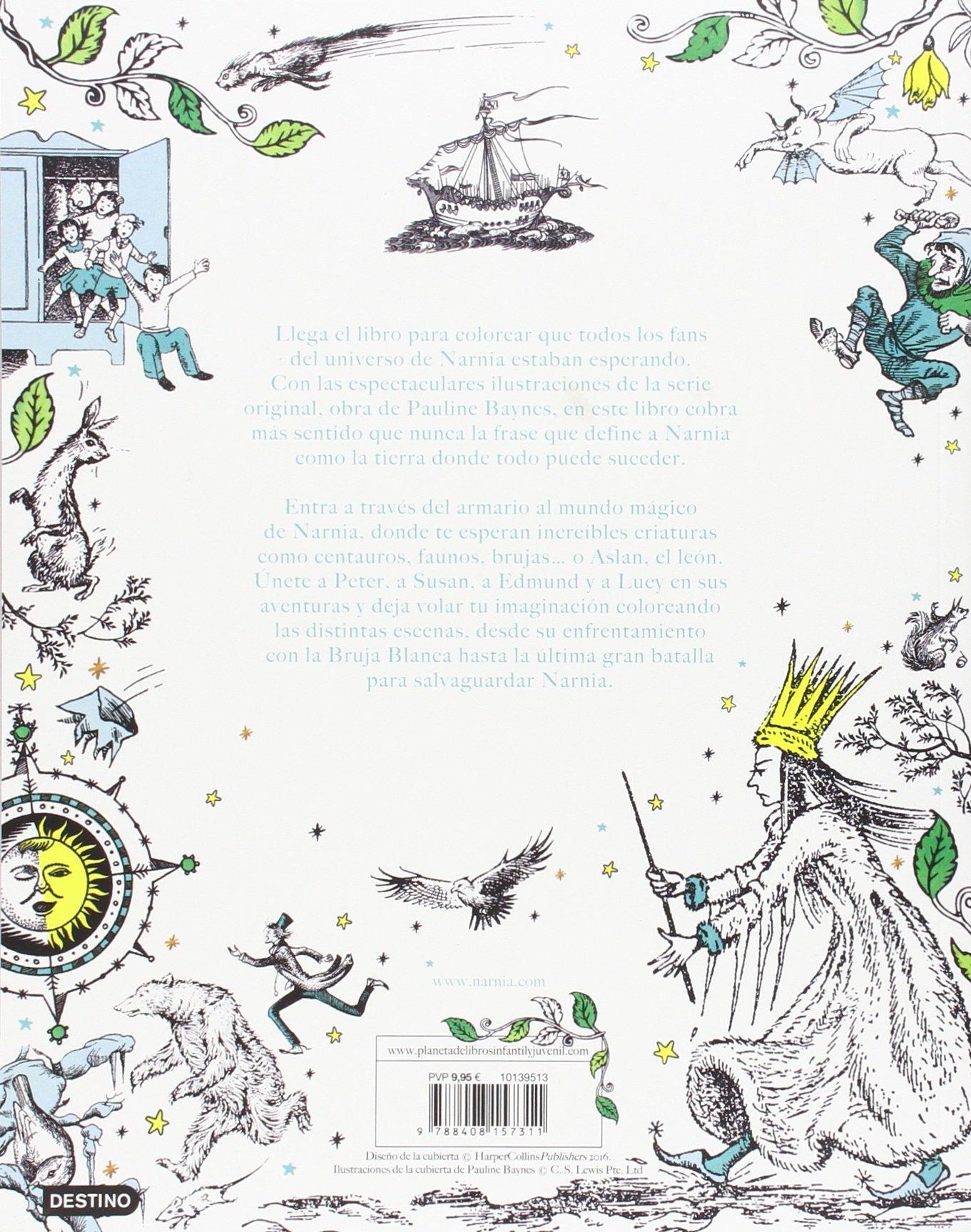 Las Crónicas de Narnia. Colouring book: Amazon.es: C. S. Lewis ...