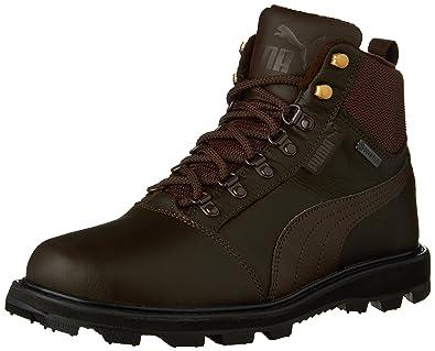 PUMA Men's Tatau Fur Boot GTX Chocolate Brown/Chocolate Brown Boot 5.5 D (M