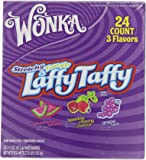 Wonka Laffy Taffy Stretchy & Tangy Variety Box,1.5-Ounce Boxes (Pack of 48)