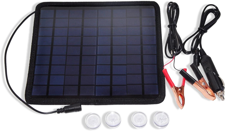 Nuzamas Poartable 5 5 W 18 V Solar Panel Charging Unit Elektronik