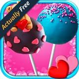 Cake Pops Valentines Day: Kids Dessert & Food Maker Games FREE