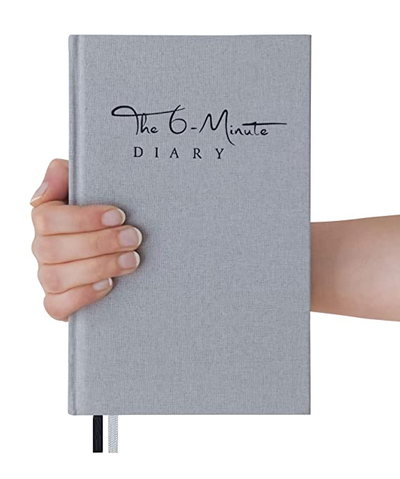 The 6-Minute Diary (El Diario de 6 Minutos) | 6 Minutes a Day for More Mindfulness, Happiness and Productivity | A Simple and Effective Gratitude Journal ...