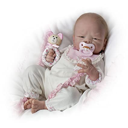 amazon com so truly real welcome home baby girl doll by ashton