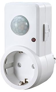 Garza Power - Detector de Movimiento Infrarrojos para Enchufes, Ángulo de Detección 120º, color…