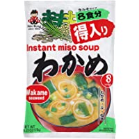 Miko Brand Instant Miso Soup, Wakame, 8 Servings , 6.21 Ounce