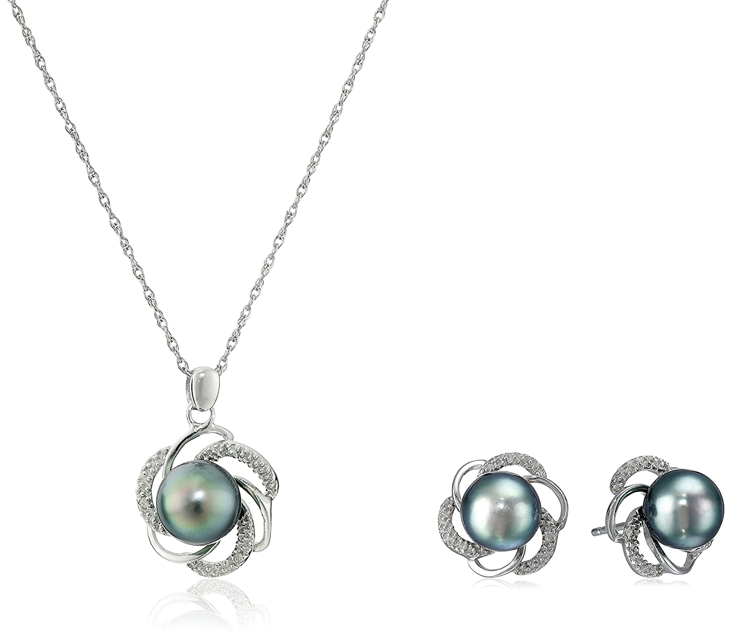 glitzy accent jewelry pearl silver subcat less type swirl diamond necklaces fw watches for overstock rocks and mm pendant necklace