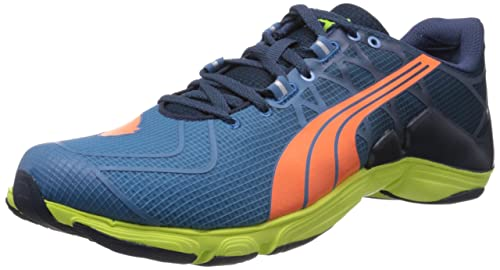 42f18745608 Puma Men s Mobium Elite V2 Blue Mesh Sport Running Shoes - 8 UK India (