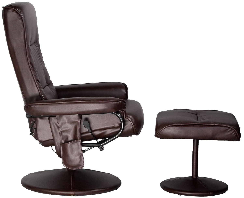 Attrayant Relaxzen Leisure Massage Reclining Chair With Heat In Comfort Soft  Upholstery, Brown: Amazon.ca: Home U0026 Kitchen